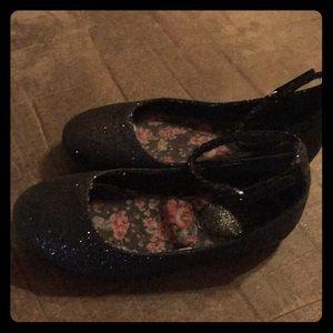 Black Ankle Sparkle ❇️ Shoes. 🤩